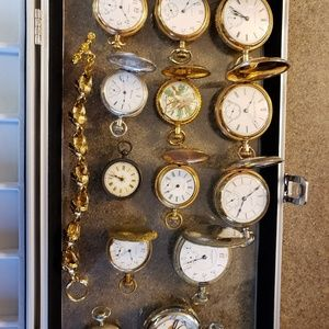 13 Pocket watches!